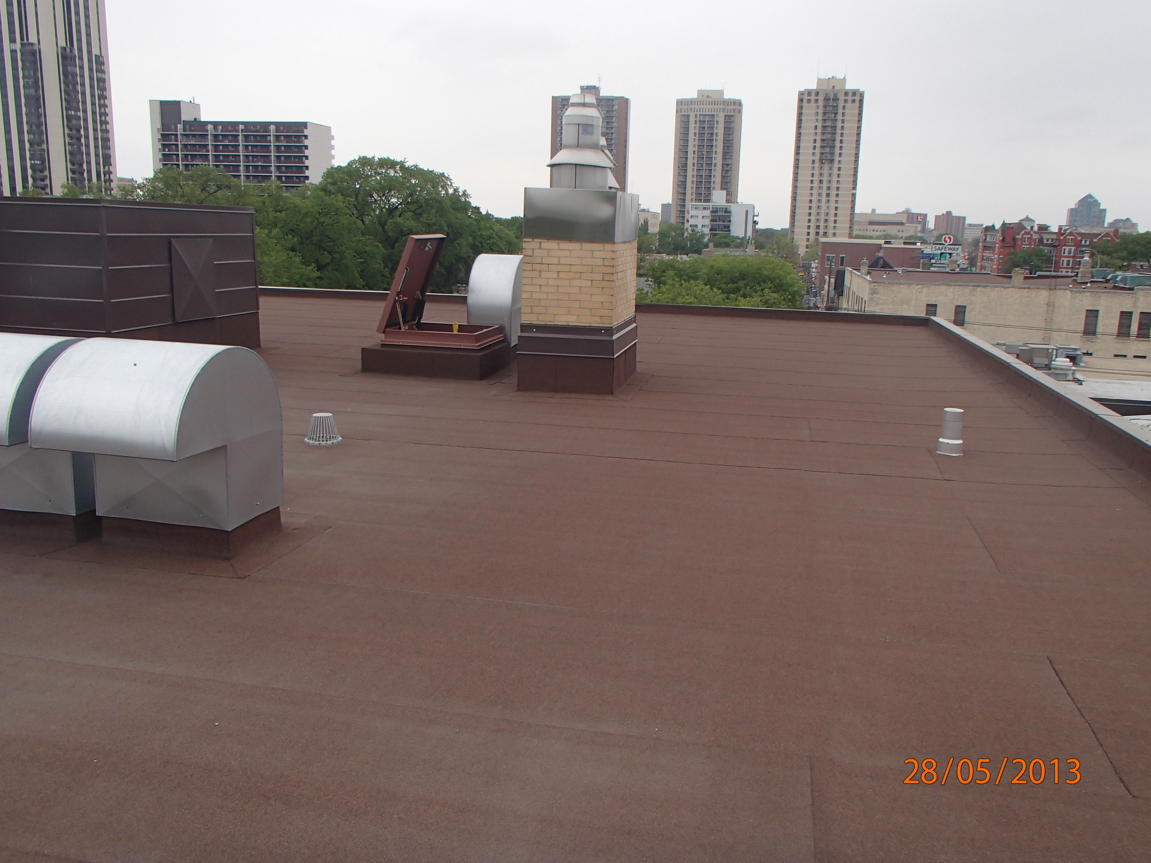 Flat Roofing Northwestern Roofing